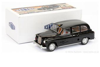 Mettoy tinplate clockwork Austin FX4 London Taxi