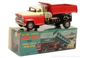 """TN Toys (Nomura of Japan) """"Battery Powered Dump Truck"""""""