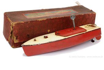 "Hornby pre-war Speedboat ""Swift"""