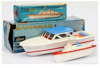 "Schuco (Germany) 763377 ""Samara II"" electric Speedboat"