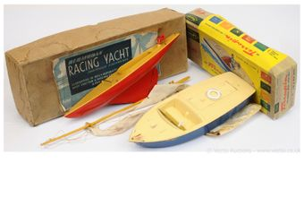 Palitoy and Playcraft, a pair of British made plastic Boats