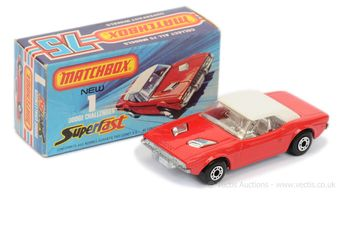 Matchbox Superfast 1c Dodge Challenger