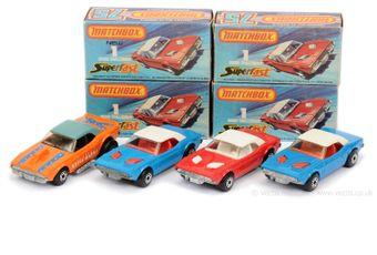 Matchbox Superfast 3 x 1c Dodge Challenger