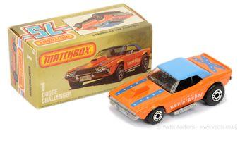 Matchbox Superfast 1d Dodge Challenger Revin' Rebel