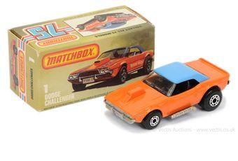 Matchbox Superfast 1d Dodge Challenger