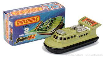 Matchbox Superfast 2c Rescue Hovercraft
