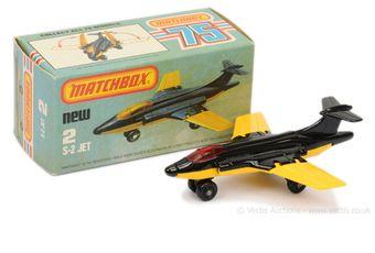 Matchbox Superfast 2d S-2 Jet (Blackburn Buccaneer)