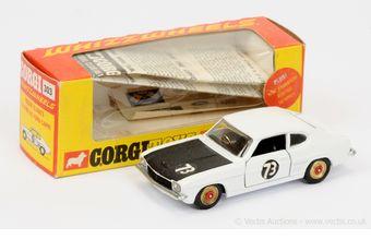 "Corgi 303 Ford Capri ""Roger Clark's"" - white body"