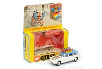 """Corgi 499 Citroen Safari """"Grenoble 1968 Winter Olympics"""""""