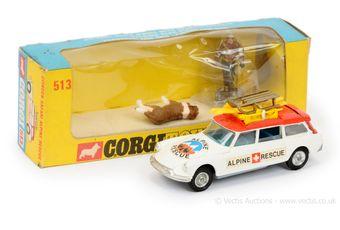 "Corgi 513 Citroen Safari ""Alpine Rescue"" - white"