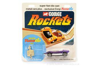Corgi Rockets D917 Alfa Romeo P35 Pininfarina