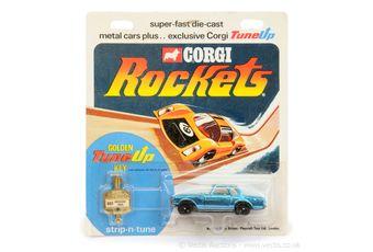 Corgi Rockets D903 Mercedes 280SL - metallic blue