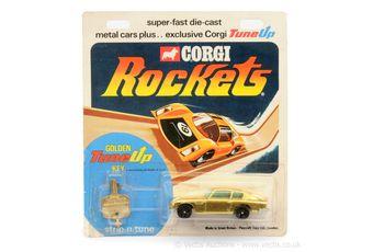 Corgi Rockets D901 Aston Martin DB6 - gold body