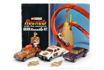 Corgi Rockets unboxed group to include Ford Capri
