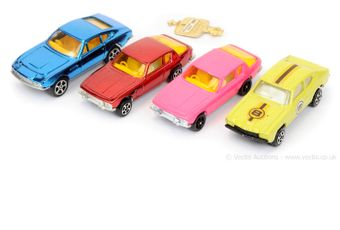 Corgi Rockets unboxed group to include Ford Capri Rally Car -