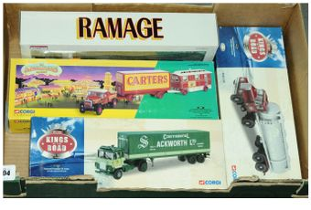 Corgi a boxed 1/50th scale Truck group to include 2 x Kings of