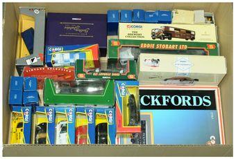 Corgi a boxed group to include Corgi Classics 27701 Seddon Atkinson