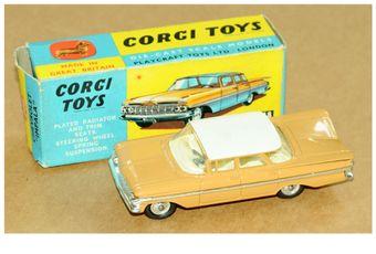 Corgi 248 Chevrolet Impala - tan body, light cream roof
