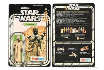 """Palitoy Star Wars vintage Sand People 3 3/4"""" figure"""