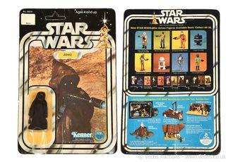 """Kenner Star Wars vintage Jawa 3 3/4"""" figure, Mint complete"""