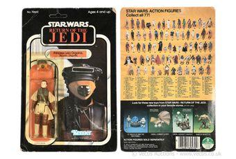 Kenner Star Wars Return of the Jedi vintage Princess Leia Boushh