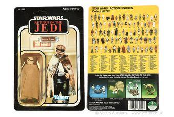 """Kenner Star Wars Return of the Jedi vintage Prune Face 3 3/4"""""""