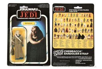 "Palitoy Star Wars Return of the Jedi vintage Bib Fortuna 3 3/4"""