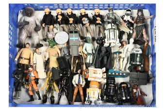 """Quantity of loose modern Star Wars 3 3/4"""" figures"""