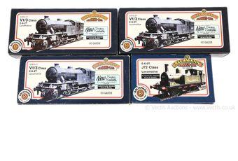 Bachmann OO Gauge Tank Locos comprising 31-600 2-6-2 LNER lined