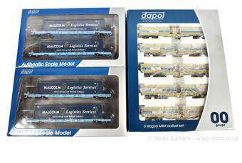 Dapol OO Gauge Modern Image Wagon Packs comprising 2 x IKA Megafret