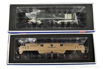 Heljan OO Gauge Diesel Locos comprising 28001 Bo-Bo BR green