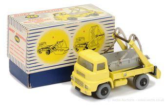 Dinky 966 Marrel Multi-Bucket Unit - pale yellow body