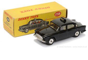 "Dinky 256 Humber Hawk ""Police"" Car - black body"
