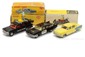 Dinky 179 Studebaker President Sedan - yellow