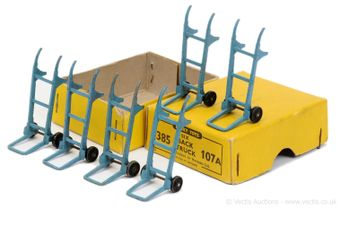 Dinky 385 (107a) Trade Pack containing 6 x Sack Trucks