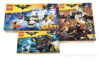 Lego The Batman Movie sets x three