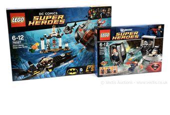 Lego DC Comics Super Heroes sets x two