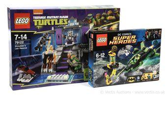 Lego Teenage Mutant Ninja Turtles set number 79122 Shredder's