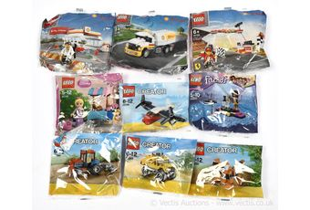 Lego Baggie sets x eight, Creator sets number 30189, 30235