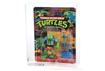 Playmates Teenage Mutant Ninja Turtles 1989 Genghis Frog figure,