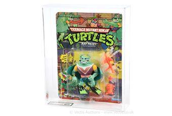 Playmates Teenage Mutant Ninja Turtles 1990 Ray Fillet figure,