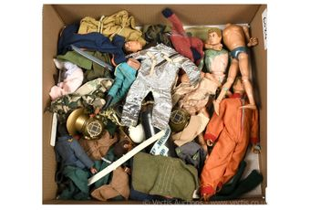 Quantity of Palitoy vintage Action Man figures