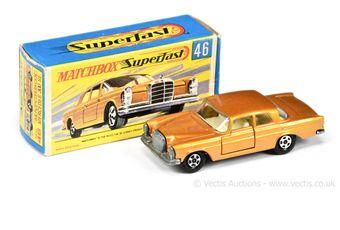 Matchbox Superfast 46a Mercedes 300SE Coupe
