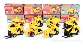 Matchbox Superfast group of Construction vehicles