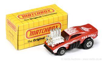 Matchbox Superfast 48d Red Rider Dragster
