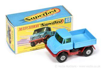 Matchbox Superfast 49a Mercedes Unimog
