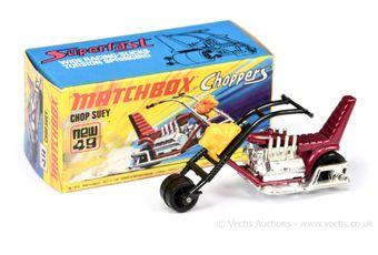 Matchbox Superfast 49b Chop Suey Chopper Motorcycle