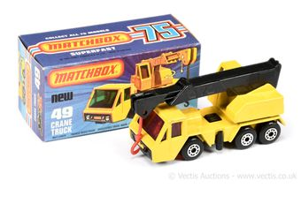 Matchbox Superfast 49c Crane Truck
