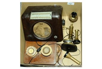 A pair of vintage highly collectable Telephones comprising of