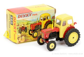 Dinky 305 David Brown Tractor - red